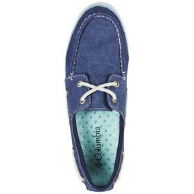 Columbia Vulc N Vent Boat Canvas - Chaussures Femme - bleu
